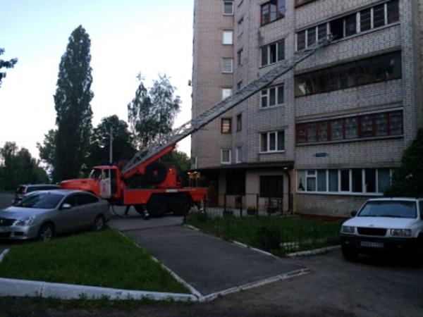 Вночь на16июня вКурске наСеменовской сгорела комната