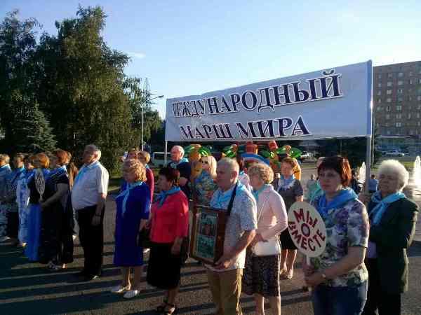 Куряне отправилась Маршем мира по городам России
