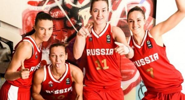 Женская сборная Российской Федерации побаскетболу выиграла чемпионат мира