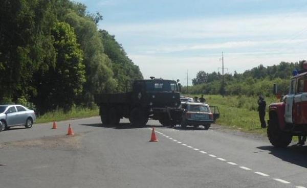 Курская область. ВДТП под Железногорском погибли трое