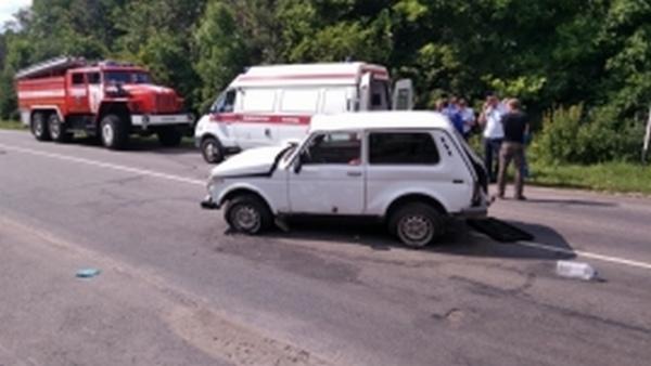 Под Курском перевернулись две машины, есть пострадавшие