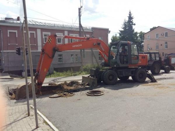 Курских энергетиков штрафуют за разрытые теплотрассы