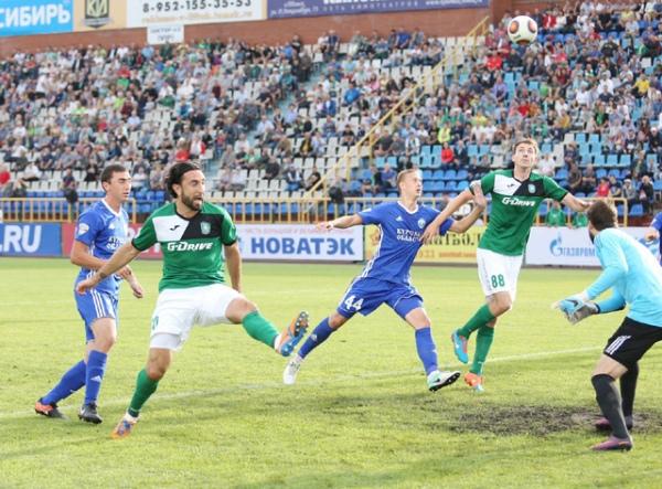 На93-й минуте «Томь» вырвала победу над «Авангардом»