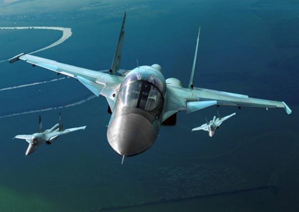 Курские летчики приняли участие в учениях в Астраханской области