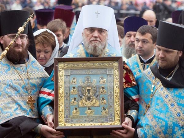 Икона «Знамение» прибудет вКурск 22сентября
