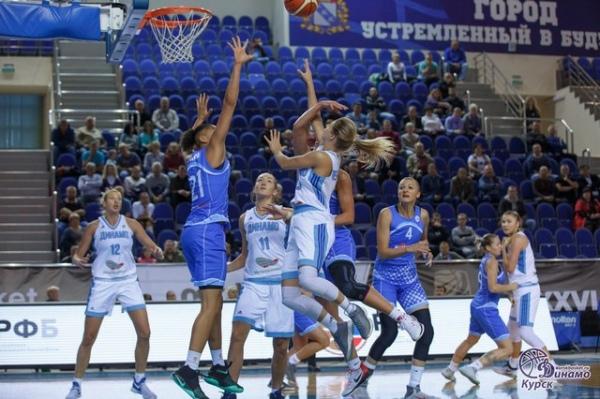 Баскетболистки УГМК обыграли «Инвенту» встартовом матче чемпионате Российской Федерации