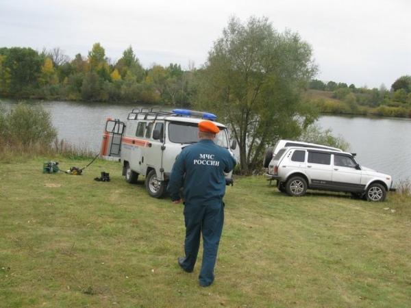 В Фатежском районе в пруду утонул рыбак