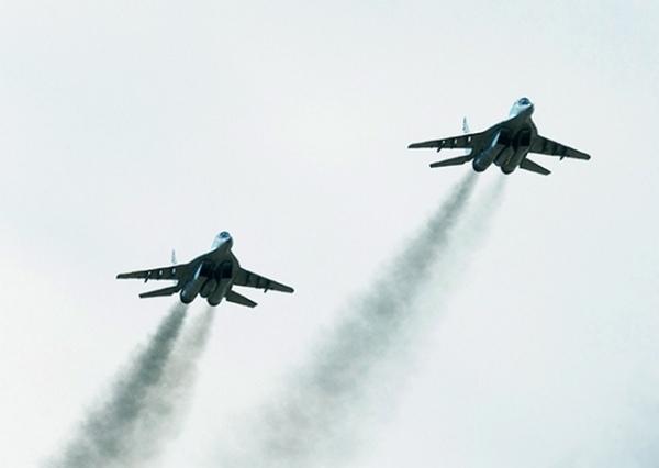 Над Курской областью провели воздушный парад