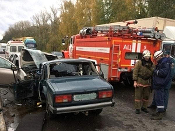 Курск. Влобовой трагедии погибли два человека, четверо ранены