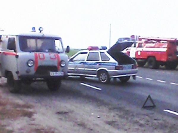 Авария произошла днем 8 октября в Советском районе