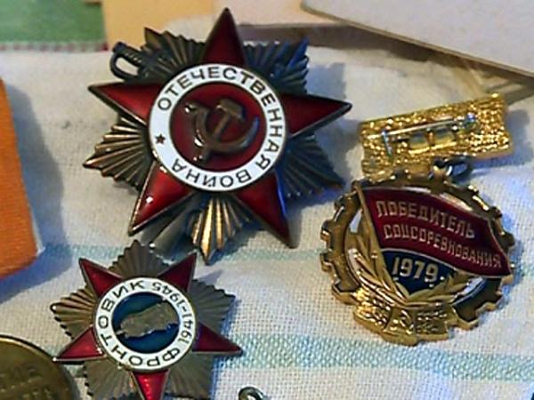 Курская пенсионерка, заявившая о пропаже орденов мужа, сама их подарила