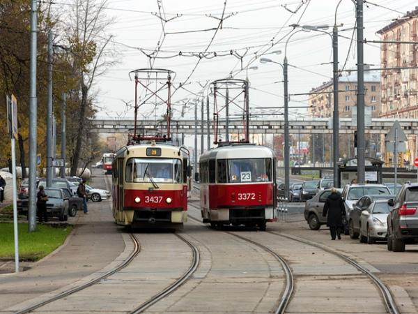 Москва бесплатно передаст Курску 20 трамваев