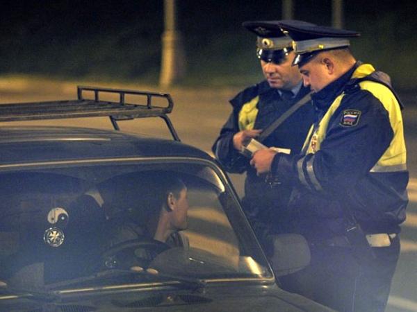 В праздничные выходные на дорогах поймали 60 нетрезвых водителей