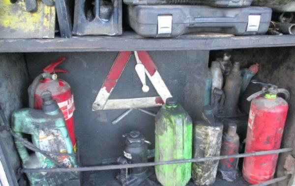 Накурской границе схвачен молдавский автобус стайником для топлива