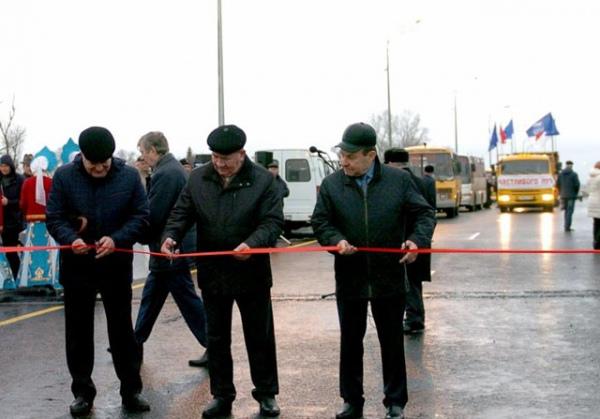 Окончено  строительство Юго-Восточного обхода Курска