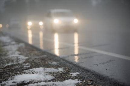 Сильный ветер до25 м/с имокрый снег ожидаются вКрыму