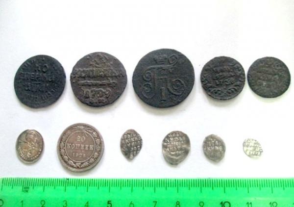 Курская таможня задержала монеты царских времен