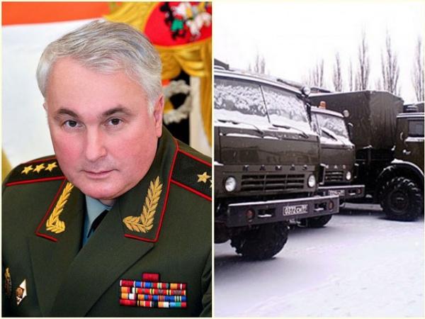 Командующий войсками Западного военного округа генерал-полковник Андрей Картаполов