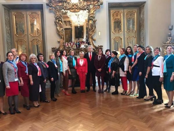Курянки вернулись с конгресса женщин-предпринимателей в Риме