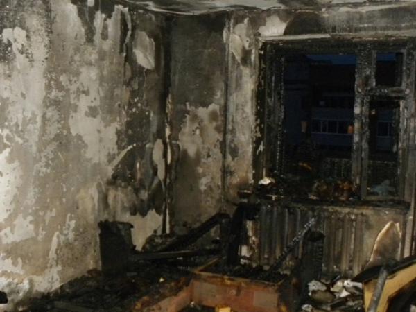 В Курске пожар на 2-й Рабочей унес жизнь мужчины