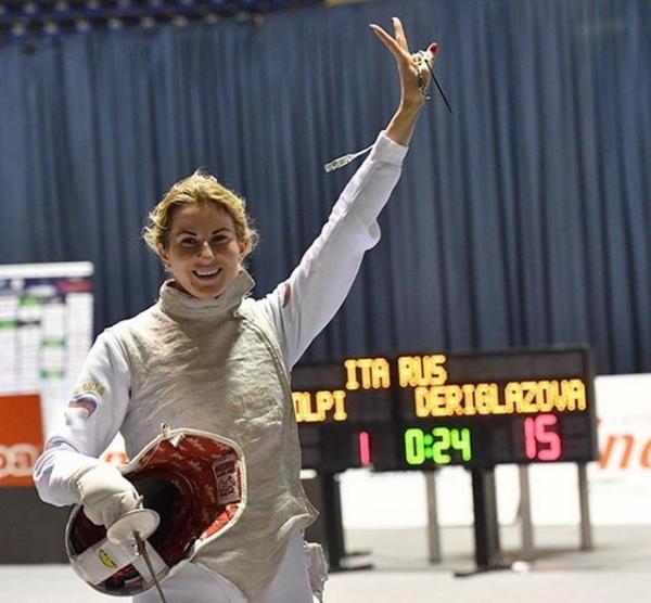 Курская рапиристка Инна Дериглазова завоевала Кубок мира