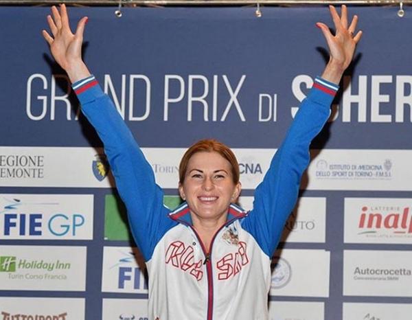 Инна Дериглазова победила на этапе Кубка мира в Турине