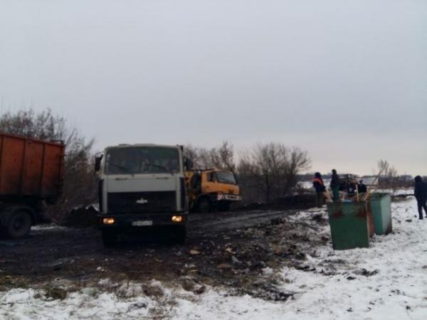 Со свалки на Голубиной вывезли 70 «КамАЗов» мусора