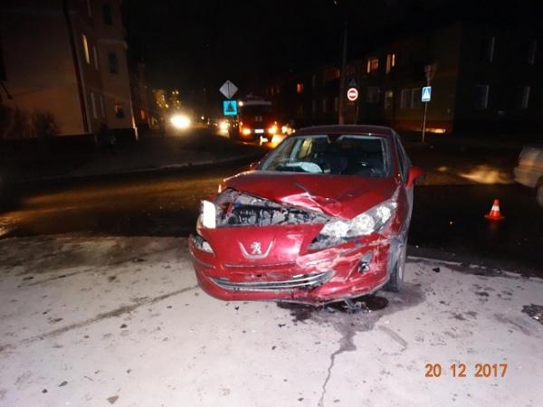 В аварии на Парковой пострадали две женщины