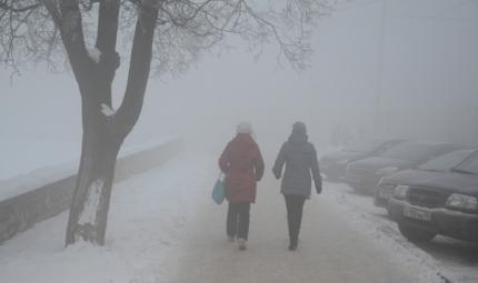 ВТатарстане прогнозируют туман и12-градусный мороз