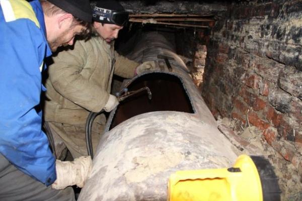 Центр Курска остался без отопления игорячей воды