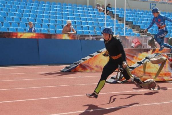 Курянка завоевала «золото» зимнего чемпионата попожарно-спасательному спорту