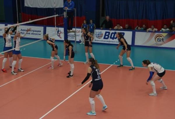 Курские волейболистки сохранили 2-ое место вчемпионате