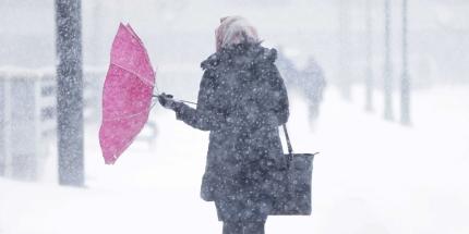 ВКурской области ожидаются снег игололедица