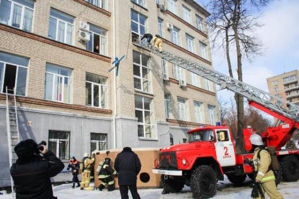 «Метель» в Курске – во время учений эвакуировали школьников и студентов