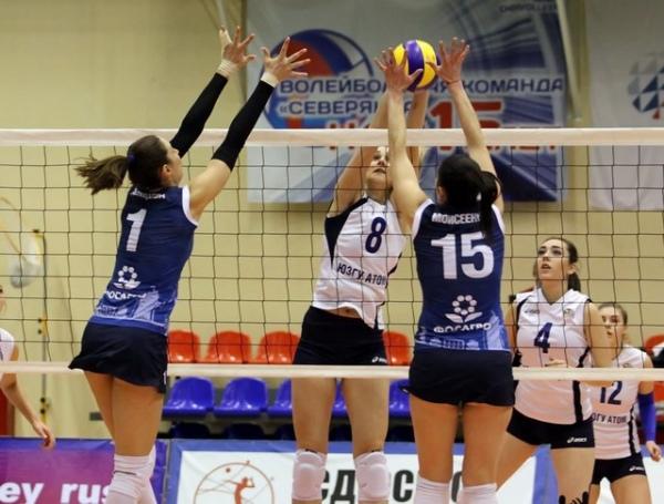 Курские волейболистки принимают соперниц из Владивостока