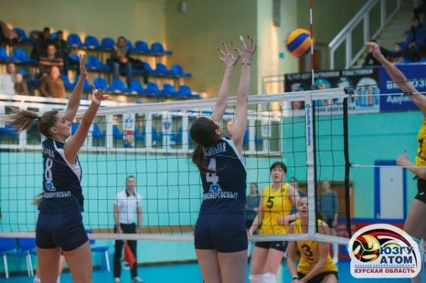 Курские волейболистки обменялись победами с «Приморочкой»