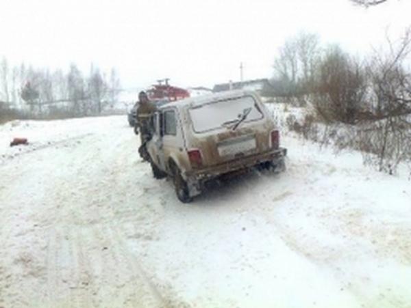 Под Курском столкнулись «Нива» и КАМАЗ