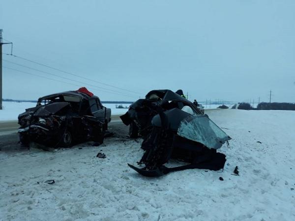 Сегодня вечером под Курском в аварии погибли два человека