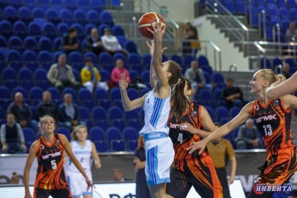 Баскетболистки «УГМК» выиграли вКурске у«Инвенты»