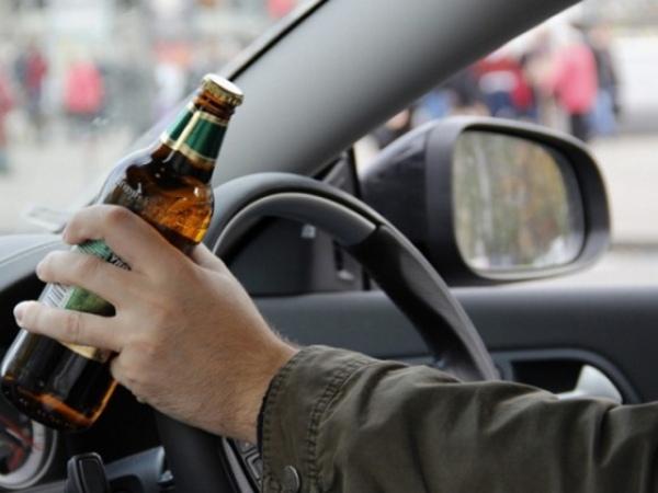 Почти 30 водителей лишатся прав за пьяную езду
