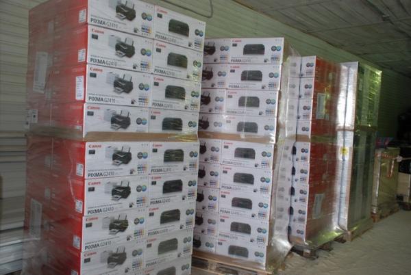 Через Курскую область пытались нелегально провезти более 700 принтеров