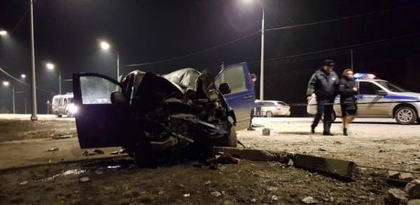 Три человека госпитализированы после ДТП под Курском