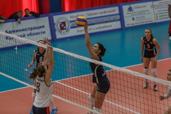 Волейболистки Курска поделили очки с нижегородской «Спартой»
