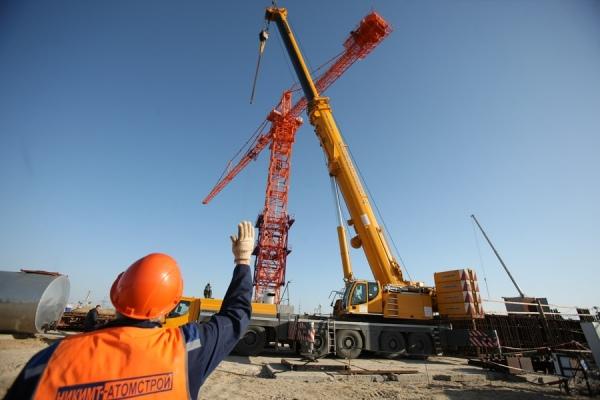 На строительную площадку Курской АЭС-2 доставлен уникальный автокран