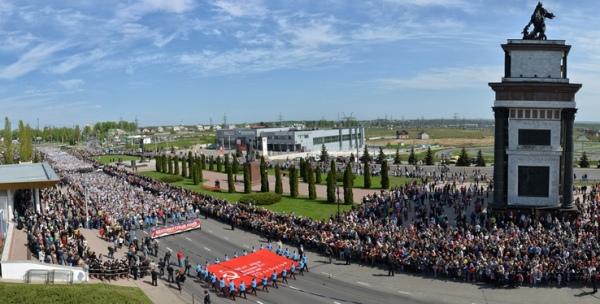 Названо число участников акции «Бессмертный полк» в столице России