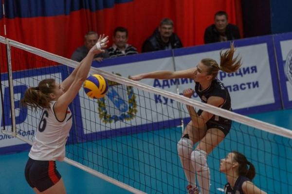 Курские волейболистки завоевали бронзу Высшей лиги