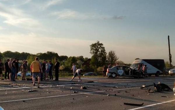 В Щетинке в ДТП пострадали 7 человек