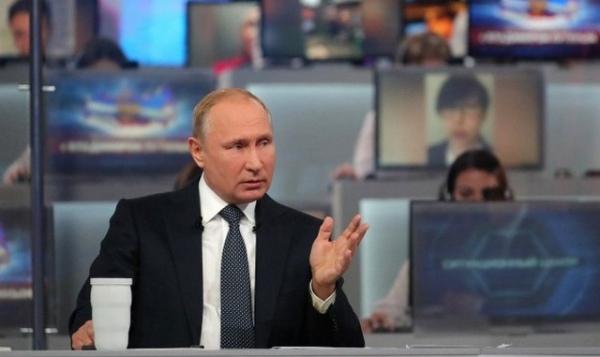 Впервые на прямой линии с Владимиром Путиным прозвучал вопрос из Курска