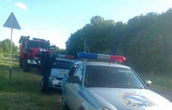 Под Курском водитель погиб, выпав из машины