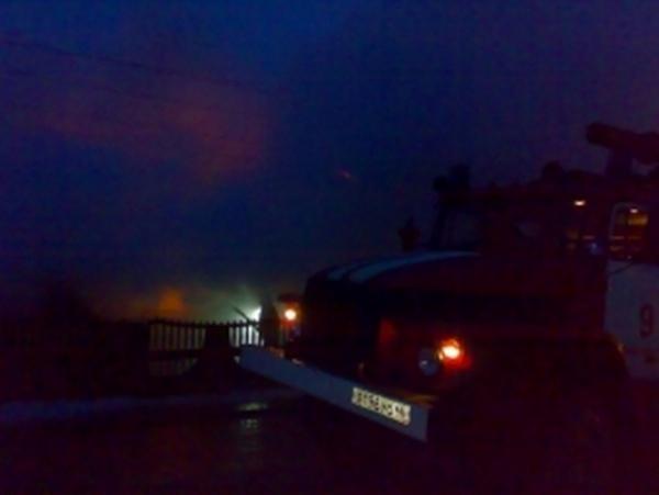 В Курчатовском районе в пожаре погибла женщина
